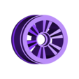 104-rearright.STL Download free STL file Wheels for OpenRC F1 for F104 tires and differential • Template to 3D print, tahustvedt