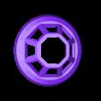 10-FensterNeu.STL Download free STL file StarWars TieFighter Gen1  • 3D printable template, Supeso