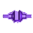 2-KoerperUnten.STL Download free STL file StarWars TieFighter Gen1  • 3D printable template, Supeso