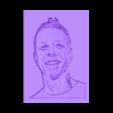 james_hetfield.stl Download free STL file Metallica 3D DRAWING • 3D print object, 3dlito