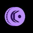 Pulley-belt-overdrive01.STL Download free STL file Lynx - Fully 3D-printable 1/10 4wd buggy • Object to 3D print, tahustvedt