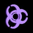biohazard2.stl Télécharger fichier STL gratuit Signe Biohazard Hand Spinner • Design pour impression 3D, Erikum