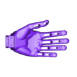 hand_left.STL Download free STL file Poppy Humanoid • Design to 3D print, PoppyProject