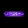 RG26146.stl Télécharger fichier STL gratuit Fichier CAD de bijoux 3D de la bande pour femme • Modèle à imprimer en 3D, VR3D