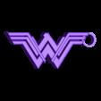 Wonder_Woman_Keychain.stl Download STL file Wonder Woman Keychain • 3D printable template, 3DPrintingGurus