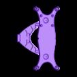 Shockplates-aftermarket01.STL Download free STL file Lynx - Fully 3D-printable 1/10 4wd buggy • Object to 3D print, tahustvedt