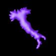 Italia cortado escala.stl Download free STL file 3D map, puzzle geography • 3D print design, FORMAT3D