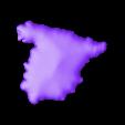 españa detallado 30% escala.stl Download free STL file 3D map, puzzle geography • 3D print design, FORMAT3D