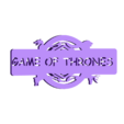 Game of thrones spinner.STL Download free STL file Spinner • 3D print object, Brahmabeej