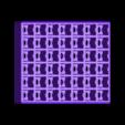 Case.stl Download free STL file 6-Piece Burr Puzzle - Set of 42 pieces • 3D printable model, ChampystileCorp