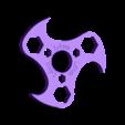 HandSpinner-LDomV3.stl Download free STL file Hand Spinner • 3D printer design, Ldom21