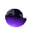 mosaic_slime.stl Download free STL file Slime Rancher - Dervish, Fire, Tangle and Mosaic Slimes • 3D printing template, ChaosCoreTech