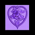 colgante_rosas.stl Download free STL file Rose pendant • 3D printing design, 3dlito