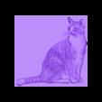 cat_lithophane.stl Télécharger fichier STL gratuit cat lithophanie • Objet pour imprimante 3D, 3dlito