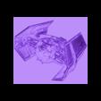 starwars_dibujo3D.stl Download free STL file Star Wars Combat Ship 3D Drawing • 3D print model, 3dlito