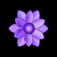 flower.stl Download free STL file Flower • 3D printable model, Hex17