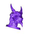 Snow_dragon_MightOfTheVikings_lowres.obj Download free OBJ file  Snow Dragon  • 3D printing model, LSMiniatures