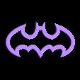 BatMark.stl Download free STL file All my tabs • 3D printer model, Gonzalor