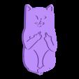 Dirty_Cat.stl Download free STL file All my tabs • 3D printer model, Gonzalor
