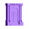 th_fr_porch1.stl Download free STL file Ripper's London - The Town Hall • 3D printer model, Earsling