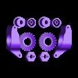 Upgraderearshaft01.stl Download free STL file Lynx - Fully 3D-printable 1/10 4wd buggy • Object to 3D print, tahustvedt