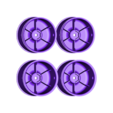 Wheels03.STL Download free STL file Lynx - Fully 3D-printable 1/10 4wd buggy • Object to 3D print, tahustvedt