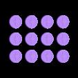 TicTacToe_Coins.STL Télécharger fichier STL gratuit Treasure Tic Tac Toe • Plan à imprimer en 3D, JonathanK1906