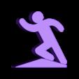 corriendo.STL Download free STL file Tinny People doorstop • 3D printing object, imj