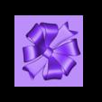 GiftBox_medium_top_bow1.STL Download free STL file Gift Box - Medium • 3D printer model, DDDeco