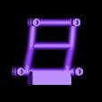 boomerang_wing_mount.stl Télécharger fichier STL gratuit Kit d'échelle TAMIYA BOOMERANG 1:24 pour SUBOTECH • Objet à imprimer en 3D, 3dxl