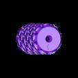Triangle Roller.stl Download free STL file Trefoil Paint Roller • 3D printer model, G3tPainted