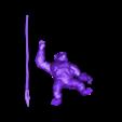 CAESAR_POSE_001A_LOW-POLY.obj Download free OBJ file CAESAR V1 (LOW-POLY VERSION) • Model to 3D print, Masterclip