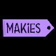 Makies_Tag_Decoration.STL Download free STL file Makies Gift Tag • Model to 3D print, D5Toys