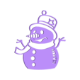 Makies_SnowMan_Decoration.STL Download free STL file Snowman Decoration • 3D printable model, D5Toys