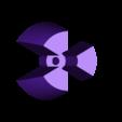 2.stl Télécharger fichier STL gratuit Fusée Tintin (Tintin Rocket) • Design pour impression 3D, tiih