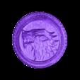 coin_juegodetronos.stl Télécharger fichier STL gratuit Jeu de pièces Thrones • Objet à imprimer en 3D, 3dlito