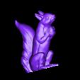 loubie_squizzle_with_acorn_130mm_v3.stl Download free STL file Squizzle! A No supports Squirrel Sculpt • 3D print model, loubie