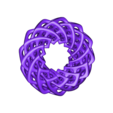 Braided_Torus_031.stl Download free STL file Self-Intersecting Torus with Twist • 3D printing model, LYTEHAUS