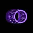 """Cylindre.stl Download STL file Home Sweet Home"""" candle jar • 3D print model, chris_soleil"""
