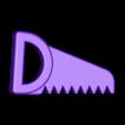 zabawka_pila.stl Télécharger fichier STL gratuit Jouet pour bébé - scie • Plan imprimable en 3D, kpawel