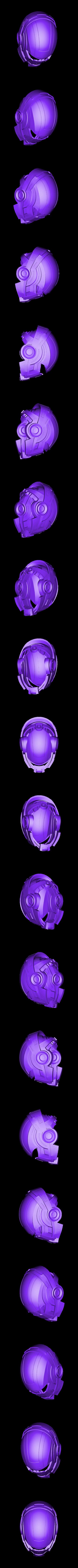 Mass_Effect_Helmet_N7_V2_35.stl Download free STL file Mass Effect N7 Breather Helmet • Template to 3D print, VillainousPropShop