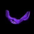 Samurai_Half_Mask_v2.stl Download free STL file Samurai Half Mask (Mempo) • Model to 3D print, VillainousPropShop