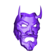 Uncle_Oni_v1.stl Download free STL file Uncle Oni Mask • 3D printing object, VillainousPropShop