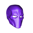 Deathstroke_v2.stl Download free STL file Deathstroke Mask with two eyes • 3D printing model, VillainousPropShop