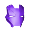 Iron_Man_Mark_46_Face_v3.stl Download free STL file Iron Man Mark 46 Helmet (Captain America Civil War) • 3D printing template, VillainousPropShop