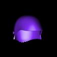 Back_Helmet_v2.stl Download free STL file  Iron Musketeer's Helmet (Final Fantasy XI) • 3D printable design, VillainousPropShop