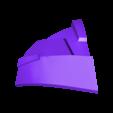 Part_1_v3.stl Download free STL file Blood Dragon Helmet Mass Effect 2 • Design to 3D print, VillainousPropShop