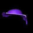 Part_5_v3.stl Download free STL file Blood Dragon Helmet Mass Effect 2 • Design to 3D print, VillainousPropShop