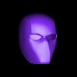 Red_Hood_Helmet.stl Download free STL file Red Hood Helmet (Batman) • 3D printer object, VillainousPropShop