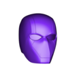 Red_Hood_Helmet_v2.stl Download free STL file Red Hood Helmet (Batman) with Details • Template to 3D print, VillainousPropShop